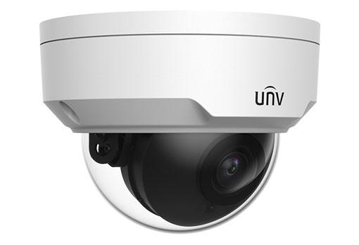 UNIVIEW IP kamera 2592x1520 (4 Mpix), až 30 sn/s, H.265,obj. 4,0 mm (82,0°), PoE, DI/DO, audio, IR 30m, WDR 120dB, ROI