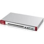 Zyxel USGFLEX 700 Firewall 12 Gigabit user-definable ports, 2*SFP, 2* USB