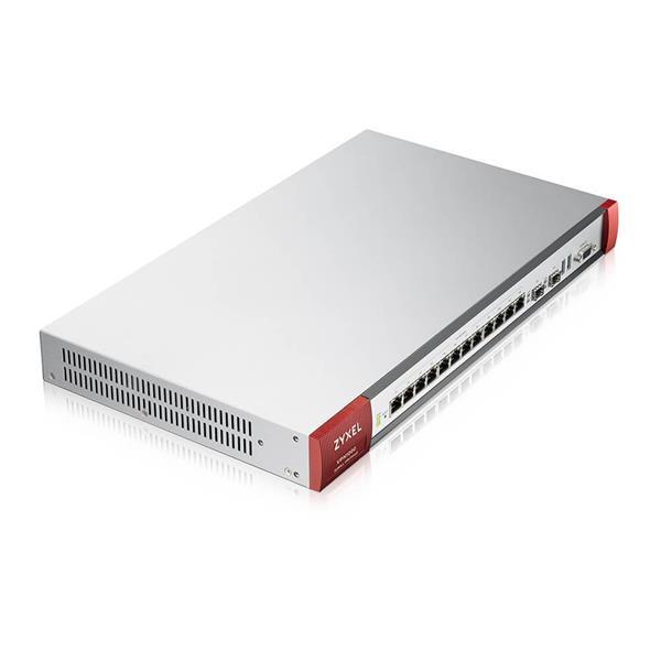 Zyxel VPN 1000 Firewall Appliance 12 GbE Copper/2 SFP, 8000 Mbit/S Firewall Throughput, 1000 IPSec VPN Tunnels